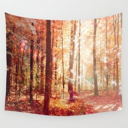 A Soul On Fire Wall Tapestry