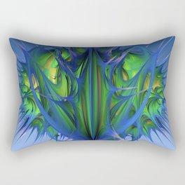 Richly Praying Rectangular Pillow