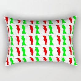 flag of Italy-Italy,Italia,Italian,Latine,Roma,venezia,venice,mediterreanean,Genoa,firenze Rectangular Pillow