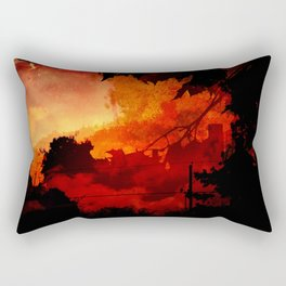 Orangefield Road Rectangular Pillow