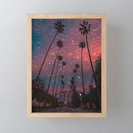 Los Angeles Framed Mini Art Print