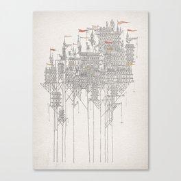 Zenobia the Invisible City Canvas Print
