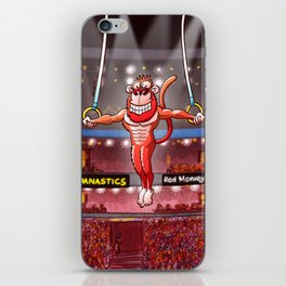 Olympic Flying Rings Monkey iPhone Skin