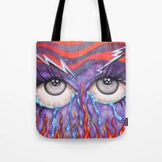 Expressive Eyes Tote Bag