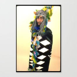 Indeigenous George Clinton Canvas Print