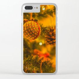Christmas Time. Clear iPhone Case