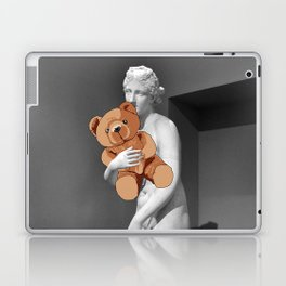La venere con l'orsachiotto Laptop & iPad Skin