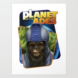 Planet Of The Apes Art Print
