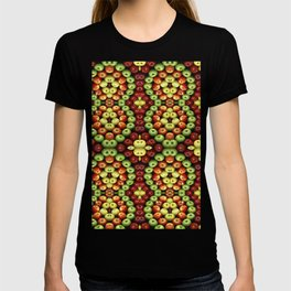 Apples Pattern T-shirt