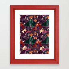 The Witch is Back! Framed Art Print