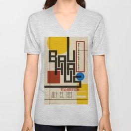 Bauhaus Poster I Unisex V-Neck