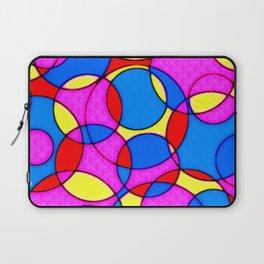BRIGHT CIRCLES II Laptop Sleeve