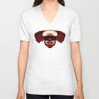 hocus pocus V-neck T-shirts featuring Hocus Pocus by Lazy Bones Studios