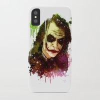 joker iPhone & iPod Cases featuring Joker by Sirenphotos