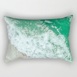 Emerald Sea Rectangular Pillow
