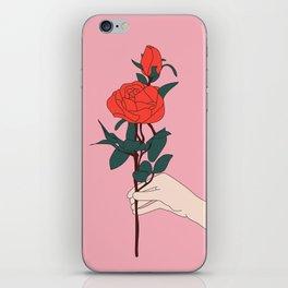 Brin de roses iPhone Skin