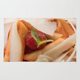 The Art of Food Pasta Close Rug