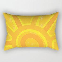 Here Comes the Sun! Rectangular Pillow
