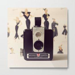 Vintage Brownie Camera Metal Print
