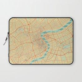 Shanghai Map Retro Laptop Sleeve