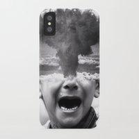 war iPhone & iPod Cases featuring War by Cash Mattock
