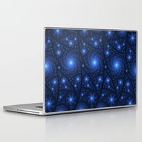 starry night Laptop & iPad Skins featuring Starry Starry Night by Lyle Hatch