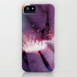 Volcano Fire Fountain iPhone Case