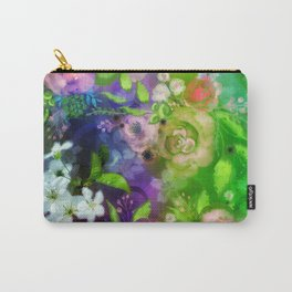 Floral Fantasy 8 Carry-All Pouch