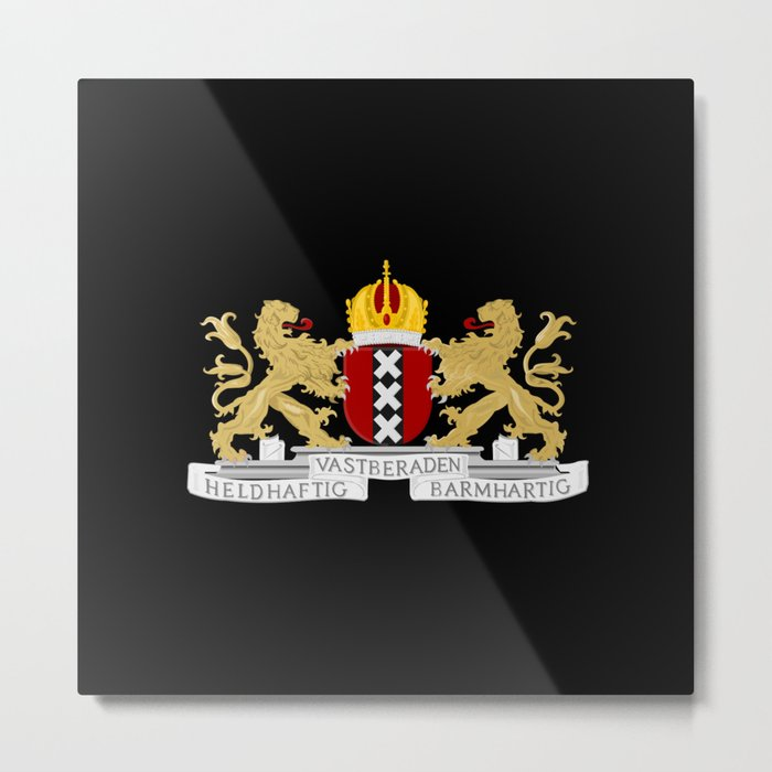 Coat of arms of Amsterdam Metal Print