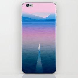 The calm in my sea iPhone Skin