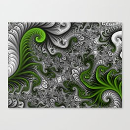 Fantasy World, abstract Fractal Art Canvas Print