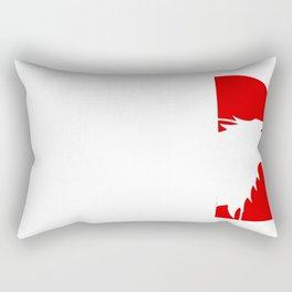 The north wall Rectangular Pillow