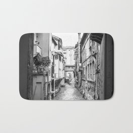 Beautiful view in the medieval center of Bologna Bath Mat