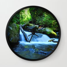 Nature's Remedy Wall Clock