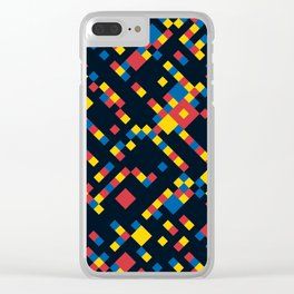 BOOGIE w/black Clear iPhone Case