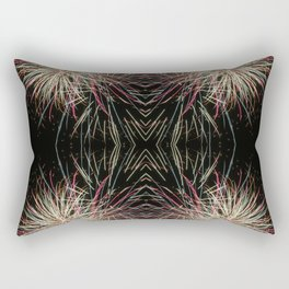 Neon Lights | Firework Frame Rectangular Pillow
