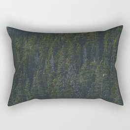 Canmore Trees Rectangular Pillow