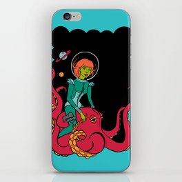 Space Voyagers iPhone Skin
