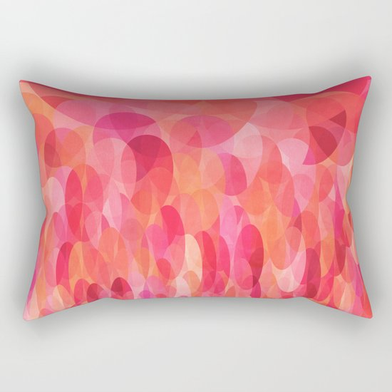 Long Rectangular Decorative Pillows : Passionata Rectangular Pillow by Mirimo Society6