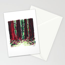 Redwood Grove Stationery Cards