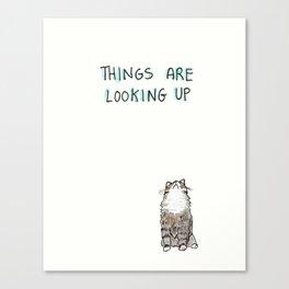 Optimisticat Canvas Print