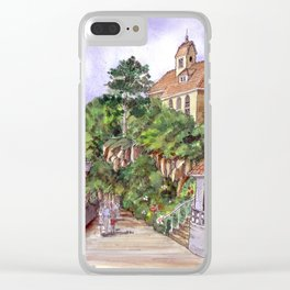 Port Meirion Clear iPhone Case