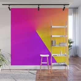 Abstract Summer Impression Wall Mural