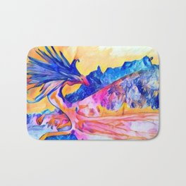 dragon benefico Bath Mat