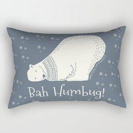 Bah humbug! - Ebenezer Scrooge Rectangular Pillow