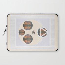 Monkey Head: Circle & Triangle Laptop Sleeve