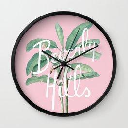 beverly hills Wall Clock