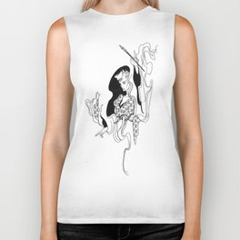 Major Arcana I The Magician Biker Tank