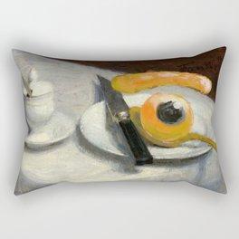 still life with eye Rectangular Pillow