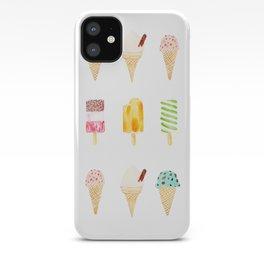 ice cream selection iPhone Case